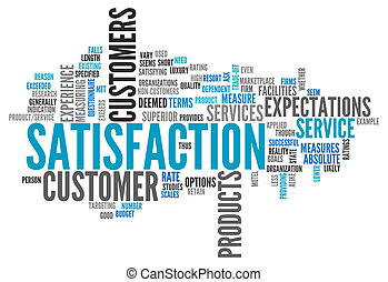 Word Cloud Satisfaction - Word Cloud with Satisfaction...