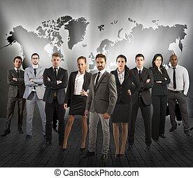 soutien,  global, équipe