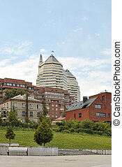 The architectural complex - The complex of some modern and...