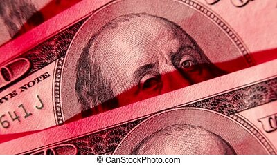 Bloody hundred dollars macro. Rotation.