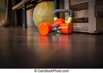 Sport Dumbbell Kettlebell Fitness