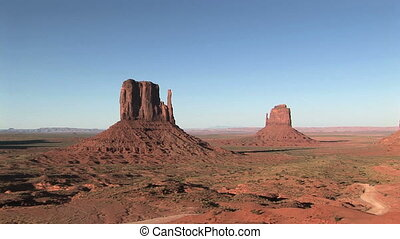 Monument Valley - The Mittens, Monument Valley Navajo Tribal...