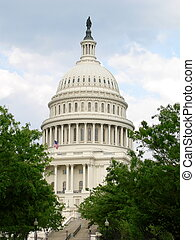 The Capitol Building - View of The Capitol Building...