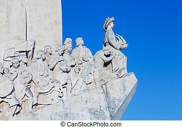 Los,  monumento, LISBONA, PORTOGALLO,  descubrimientos