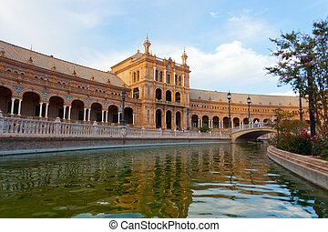 Plaza de Espana, Seville, Spain