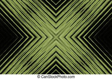 X - Glass Background