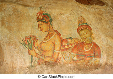 Cloud Girls Sigiriya