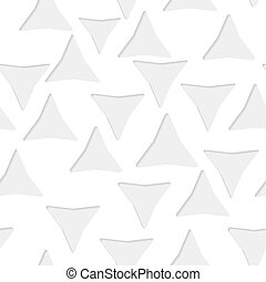 Seamless triangles paper pattern - Seamless paper pattern...