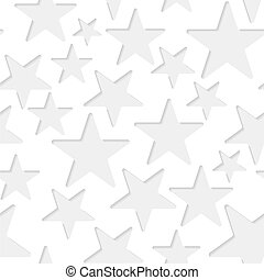 Seamless stars paper pattern - Seamless paper pattern with...