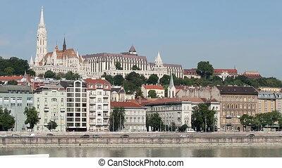 Matyas church and fisherman bastion Budapest