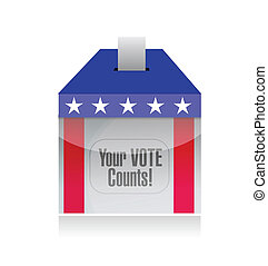 your vote counts voting poll