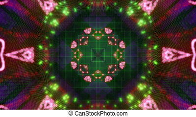 Particle chaos Loop X43 - Particle chaos looping animated...