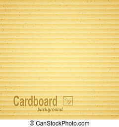 Textured paper cardboard Vector illustration