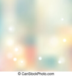 abstraction - delicate blurred abstraction with lights,...