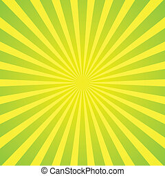 light green rays background