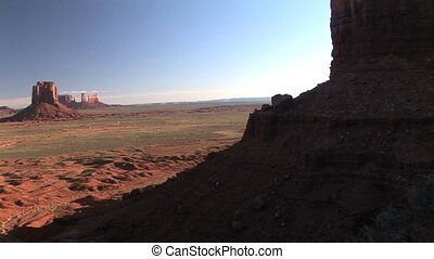 Monument Valley Navajo Tribal Park, pan