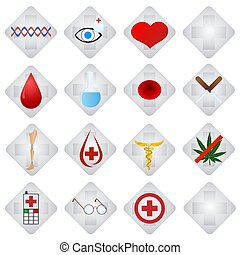 Set of medical icons-1