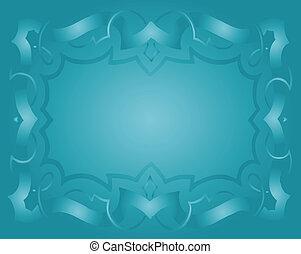 Vintage Royal Background Light Blue