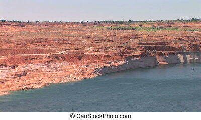 Glen Canyon Dam, Lake Powell, pan