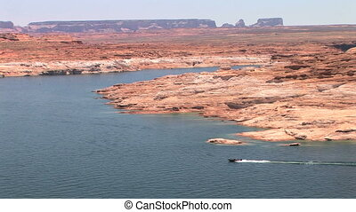 Lake Powell shoreline, Glen Canyon National Recreation Area