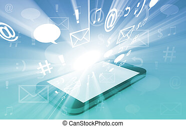comunicação, tecnologia