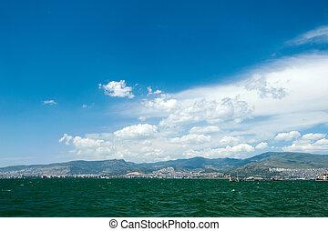 City scape Izmir - Cityscape of Karsiyaka Izmir, Turkey