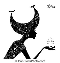 Zodiac sign libra fashion girl
