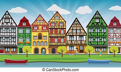 City illustration - Vector illustration of city illustration...
