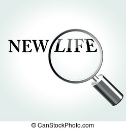 Vector new life concept - Vector illustration of new life...