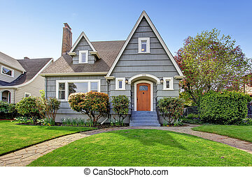 House exterior with curb appeal - House exterior. View of...