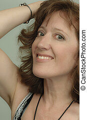 Carefree Woman - Confident mature woman