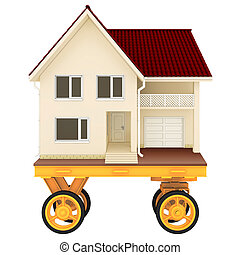trolley for house real estate. mobile home - trolley for...