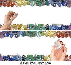 Crystal Healing Banner - Crystal healer's website banner...