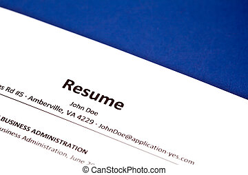 Completing an employment application. - Completing an...