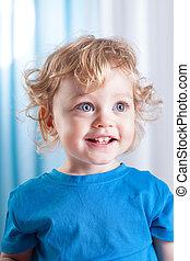 Portrait of a cute little child