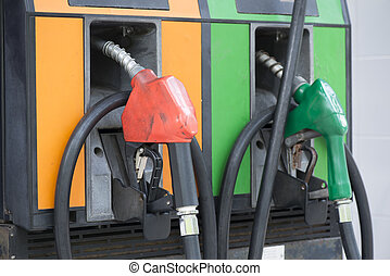 gasolina, estación