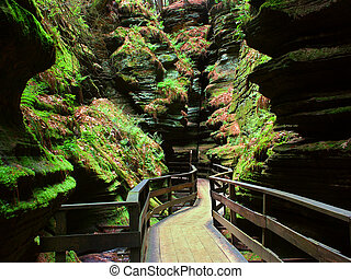 Witches Gulch in Wisconsin Dells - Witches Gulch is a...