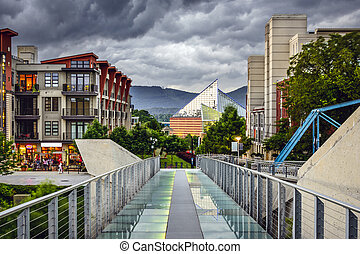 Downtown Chattanooga - Chattanooga, Tennessee, USA downtown...