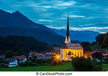 Church - Small old church in mountains Alps Austria