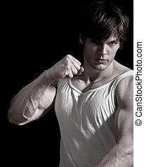 Mixed Martial Arts Warrior