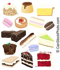 taart, selectie