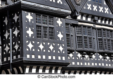 Tudor Manor House - Traditional Tudor period timber framed...