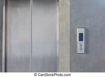 Elevator with only up and down button