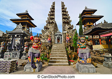 Batur Temple, Bali, Indonesia. One of the most important...