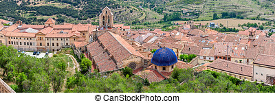 Morella Aerial View from Top of the Castle