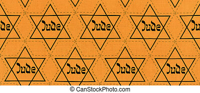 Star of David - original fabric of NS-regime