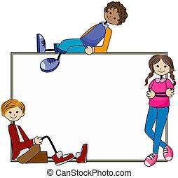Blank Board Kids