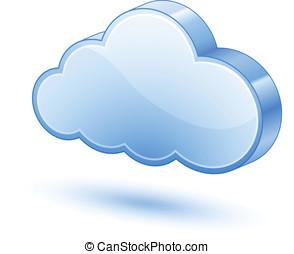 3D Cloud Clip Art – Cliparts