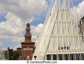 Expo 2015 in Milan - struttura, world exsposition, nations,...