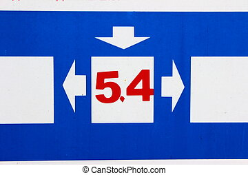 numbers five and four - image numbers five and four pointers...